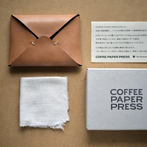 COFFEE LEATHER / CARD CASE ( S )