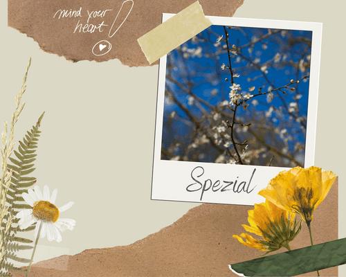 Aufblühen| mind your heart SPEZIAL | 20. März 2021|8.30 - 11.00 Uhr