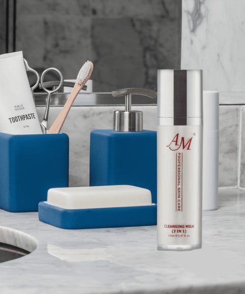 AM 3 in 1 Cleansing Milk 155ml