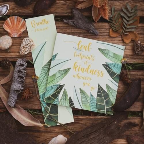 Kindness card + bookmark