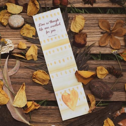 Boho bookmark