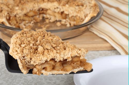 """Apple Crumb Pie (9"""" pie tin)"""