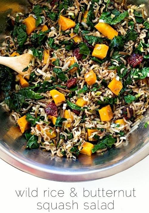 Butternut Squash & Wild Rice