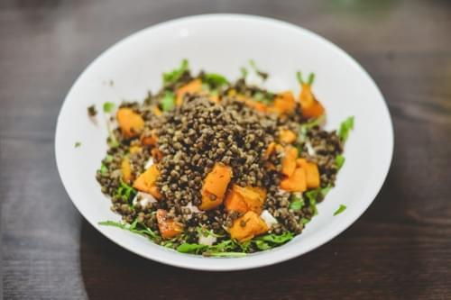 Pumpkin & Lentil Salad