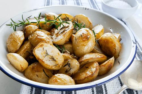 Roasted Herb Yukon Baby Potatoes