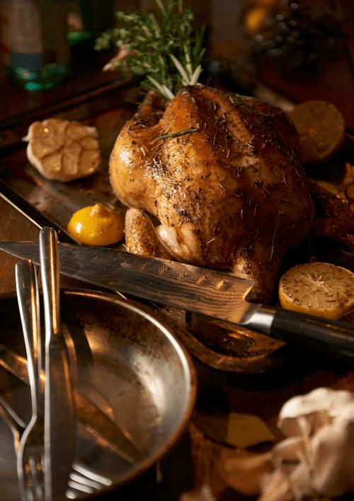Simple Herb Roasted Turkey with Turkey Gravy