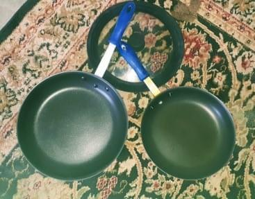 Thermalloy frying pans 12inch brand new 10inch used