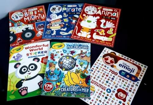 *New* Activity books