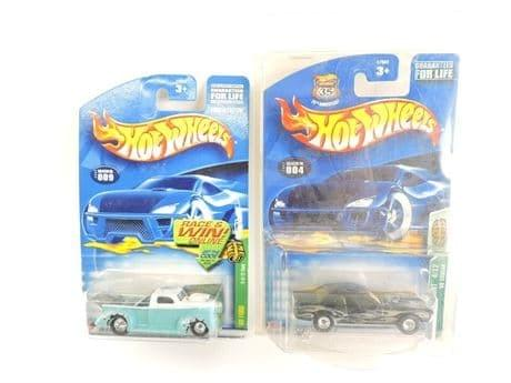 Hot Wheels 1940 Ford & 1968 Cougar Diecast Miniature Cars