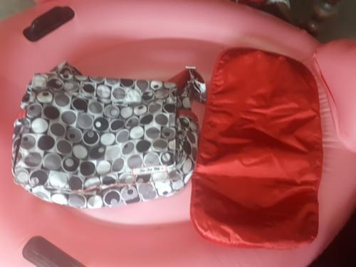 Jujubee- Diaper bag and change pad