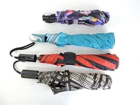 Lot of (12) Assorted Compact Umbrellas