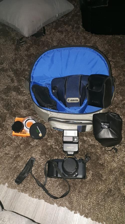 Vintage Canon - T-50 Camera