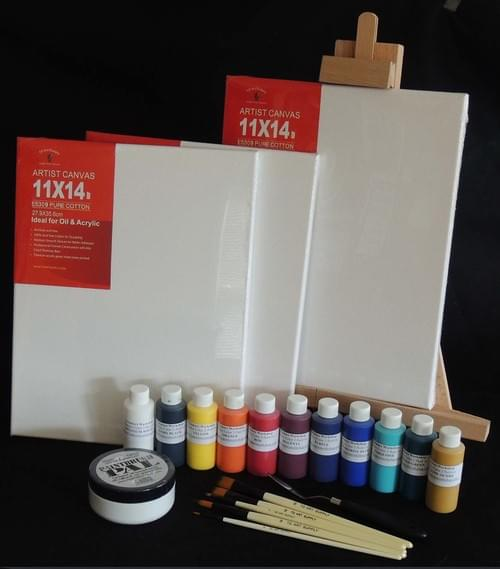 Creators Workshop Acrylic Paint Set 1 (Click Set 2 for pickup at our school)