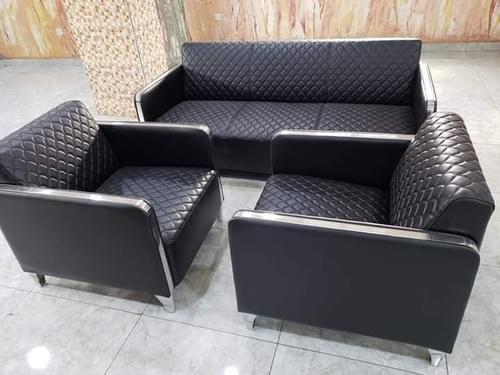 Pure Leather Modern Sofa