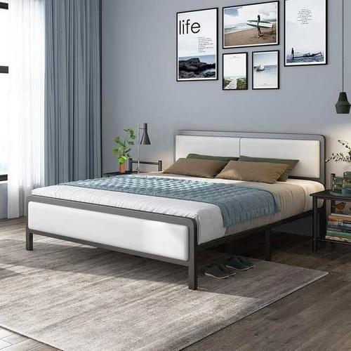 Simple Modern Sized Iron Bed