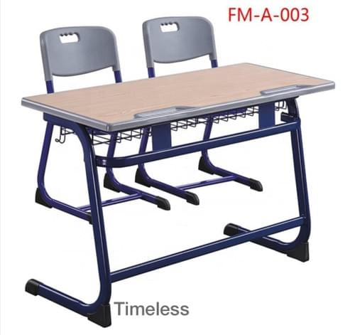 Classroom Desk and Chair - Double set