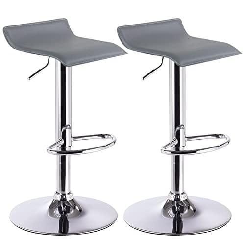 Vinyl Adjustable bar stool