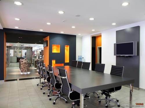 Boardroom table plus 10 chairs