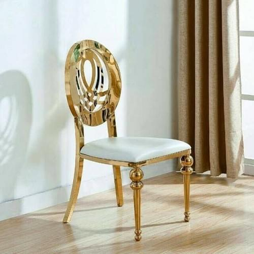 Golden Infinity royal Chair - Event furniture
