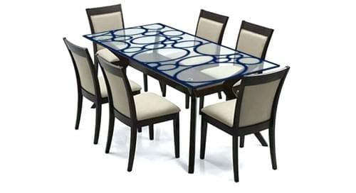 Matercraft Glass Dining plus 6 chairs