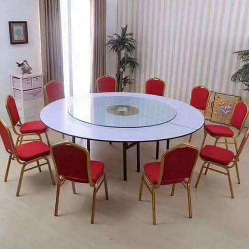 12pcs Large size banquet chair (RED only)