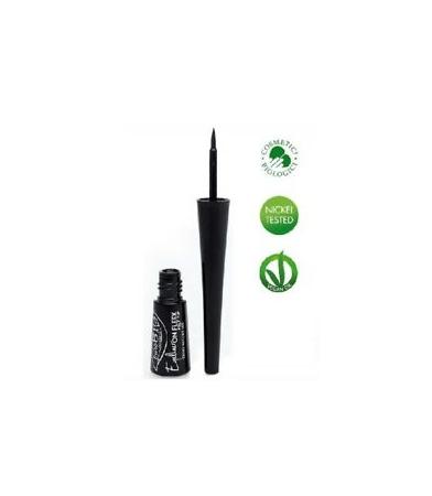 Eyeliner negro ecológico.
