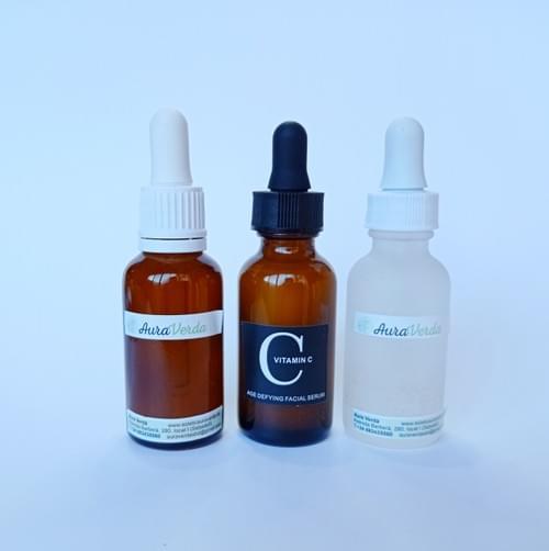 Serum  facial  Aura Verda