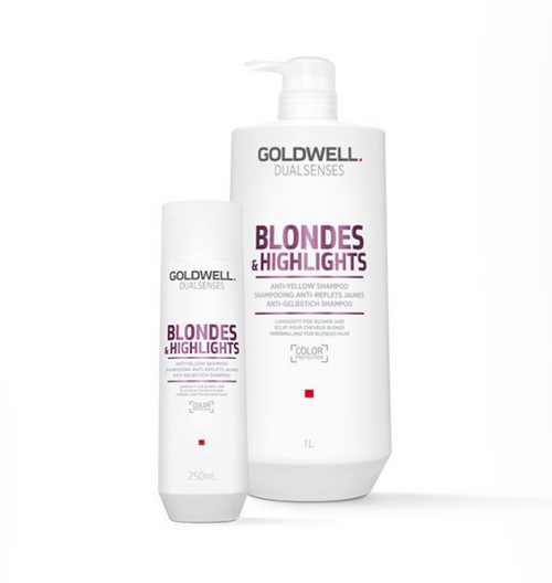 Dual Senses Blondes & Highlights Color Shampoo