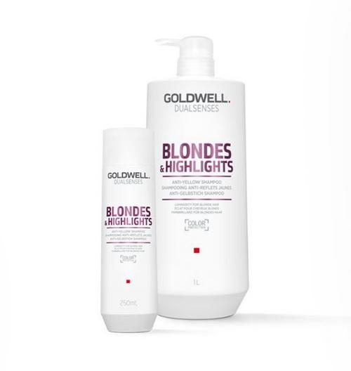Dual Senses Blondes & Highlights Color Shampoo