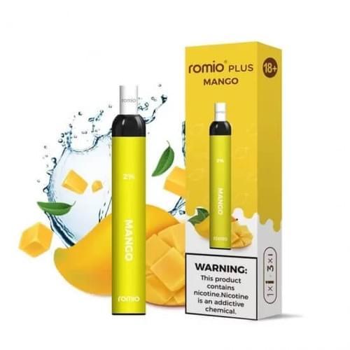 Romio Plus 500 Puffs Disposable Vape