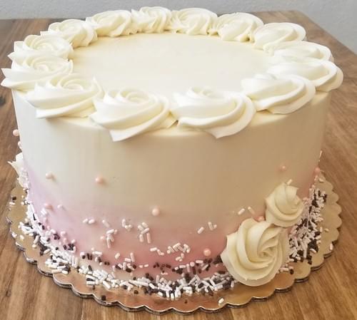 "10"" Round Gluten Free Bakery Cakes"