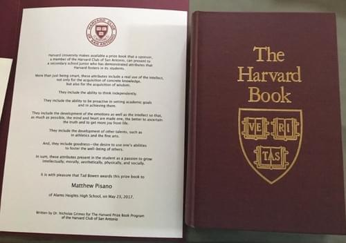 Harvard Book Award