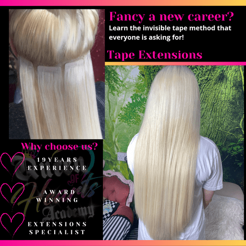 Tape Extensions - In Person