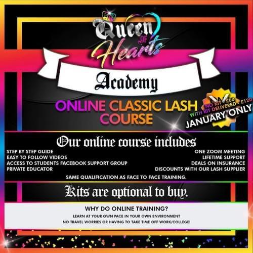 Semi permanent Classic lash - Online Course