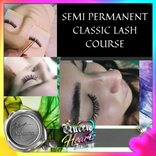 Semi permanent Classic lash - Face to Face Course