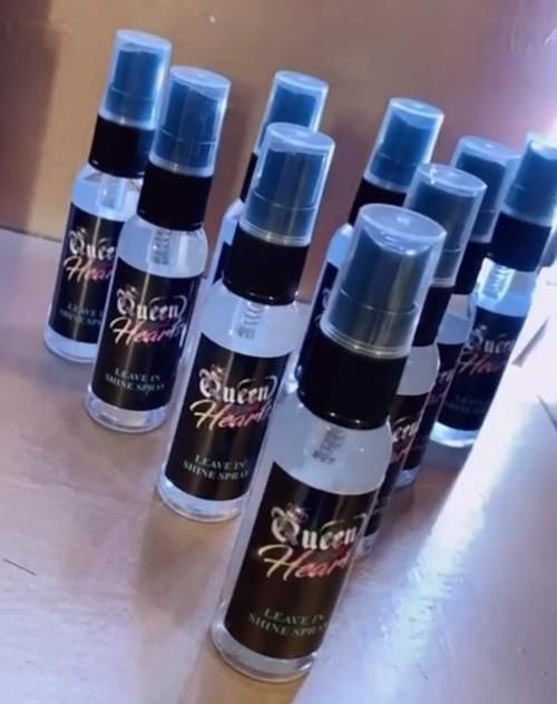 Leave In Shine Spray