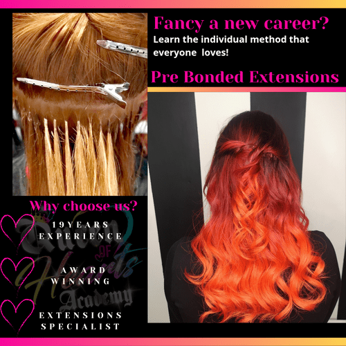 Pre Bonded Extensions - learn in Person.