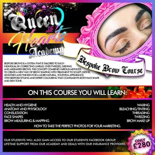 Bespoke Brow - Face to Face Course