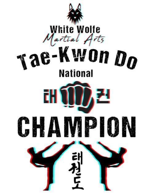 Tae Kwon Do National Champion Kids Tee