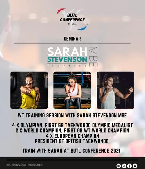 BUTL Conference 2021 & National Student Taekwon-Do Awards Packages