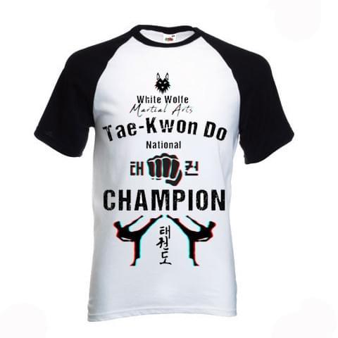 Tae Kwon Do National Champion Adult Tee