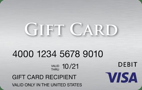 Visa Giftcards
