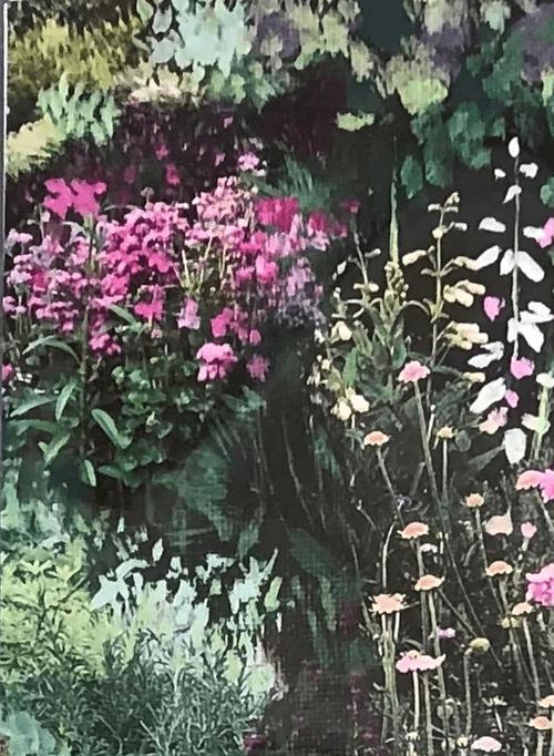 3 Notecards...J's Garden