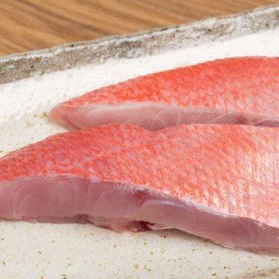 RED SNAPPER STEAK | 鲜冻红曹鱼片 500G/3PCS