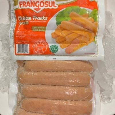 CHICKEN FRANK (HOTDOG) | 鸡肉肠 10PCS/PKT