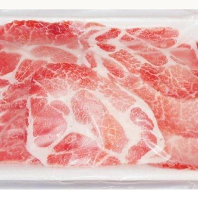 PORK COLLAR SHABU | 猪五花肉片(火锅涮肉)500G