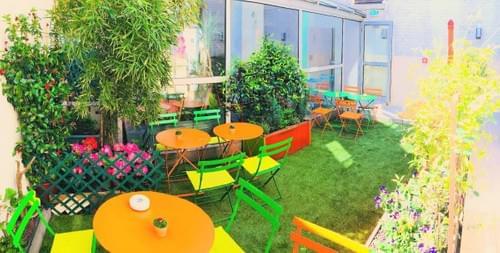 HôtelAlpha Montparnasse & son ambiance chaleureuse et calme
