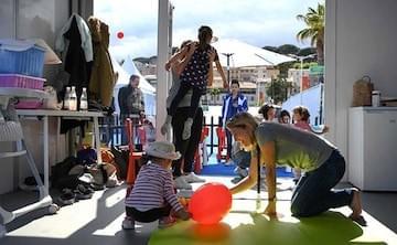 Le ballon rouge sur 3 jours : la nursery du festival de Cannes