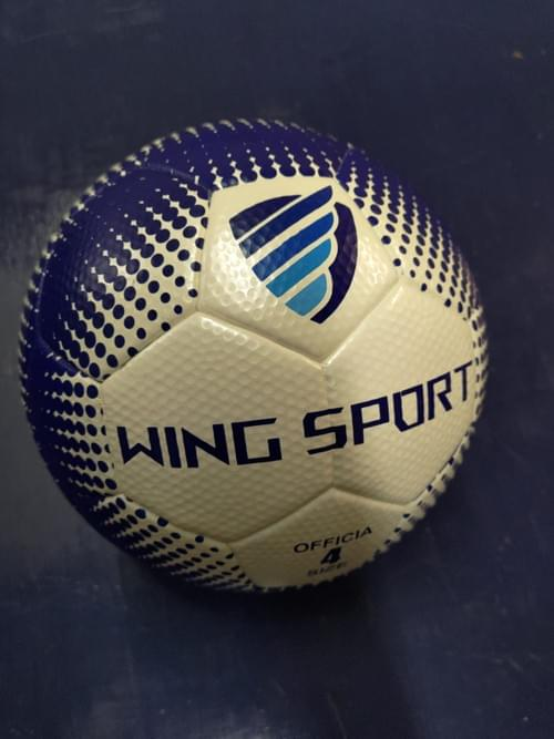 WING SPORT 4號足球 高爾夫球凹洞珍珠皮無縫足球