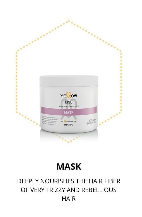 Yellow - Liss Mask
